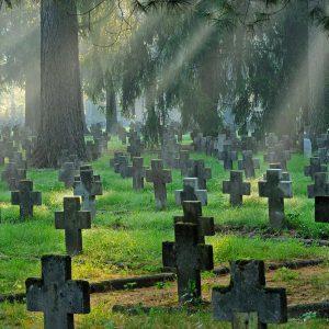 Cmentarz jeniecki w Łambinowicach