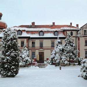 Pałac w Miedarach koło Tarnowskich Gór